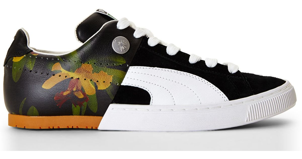 b06114abf5d1ac Lyst - PUMA Black My-57 Pau Brazil Sneakers in Black