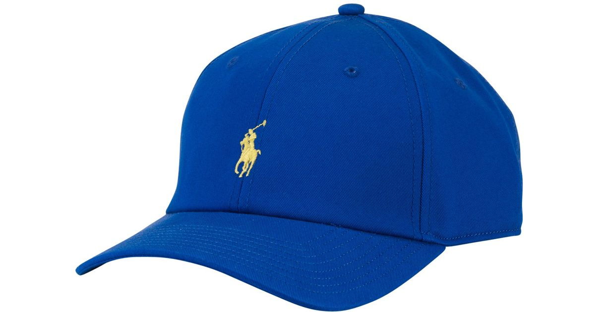 a346874b8ccfb Polo Ralph Lauren Fairway Cap in Blue for Men - Lyst