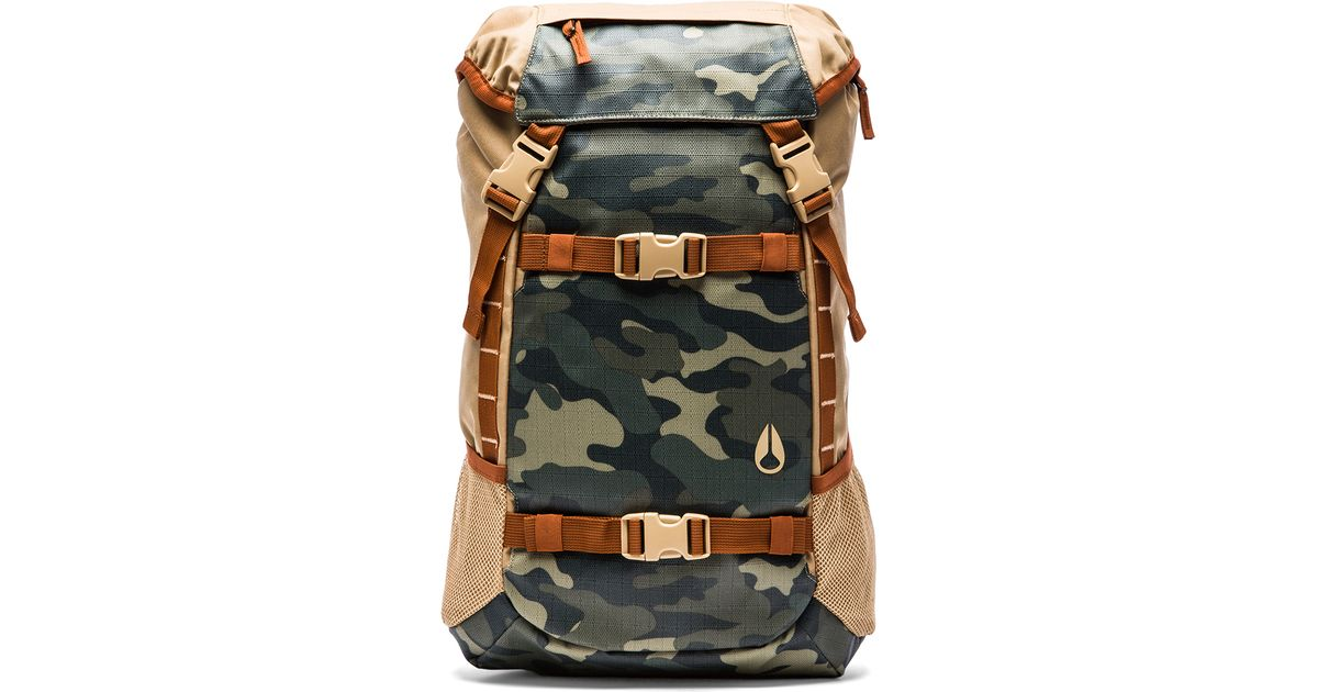 Lyst - Nixon Landlock Backpack in Natural for Men 78d5d278cff9