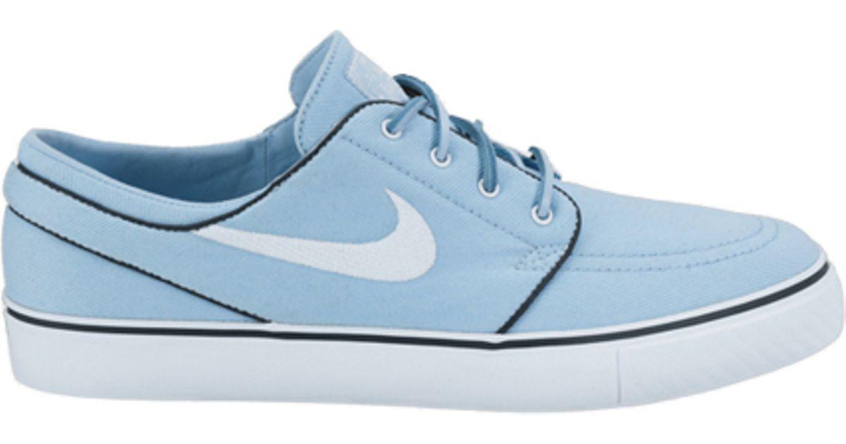 6bcb20807a4d2c Lyst - Nike Sb Zoom Stefan Janoski Soft Blue white in Blue for Men