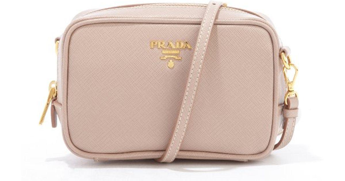 Cross Body Bags - Saffiano Leather Wallet Bag Rose - rose - Cross Body Bags for ladies Prada mbFewfSUN4