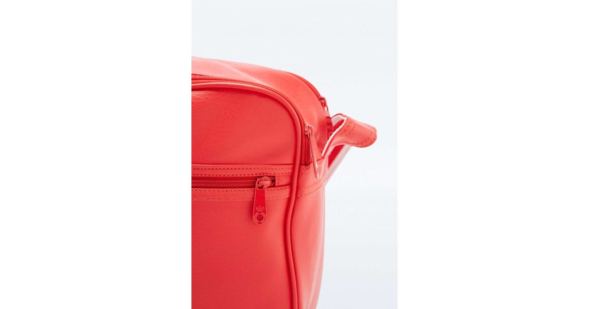 4105809520dd adidas Originals Classic Red Airliner Bag in Red - Lyst