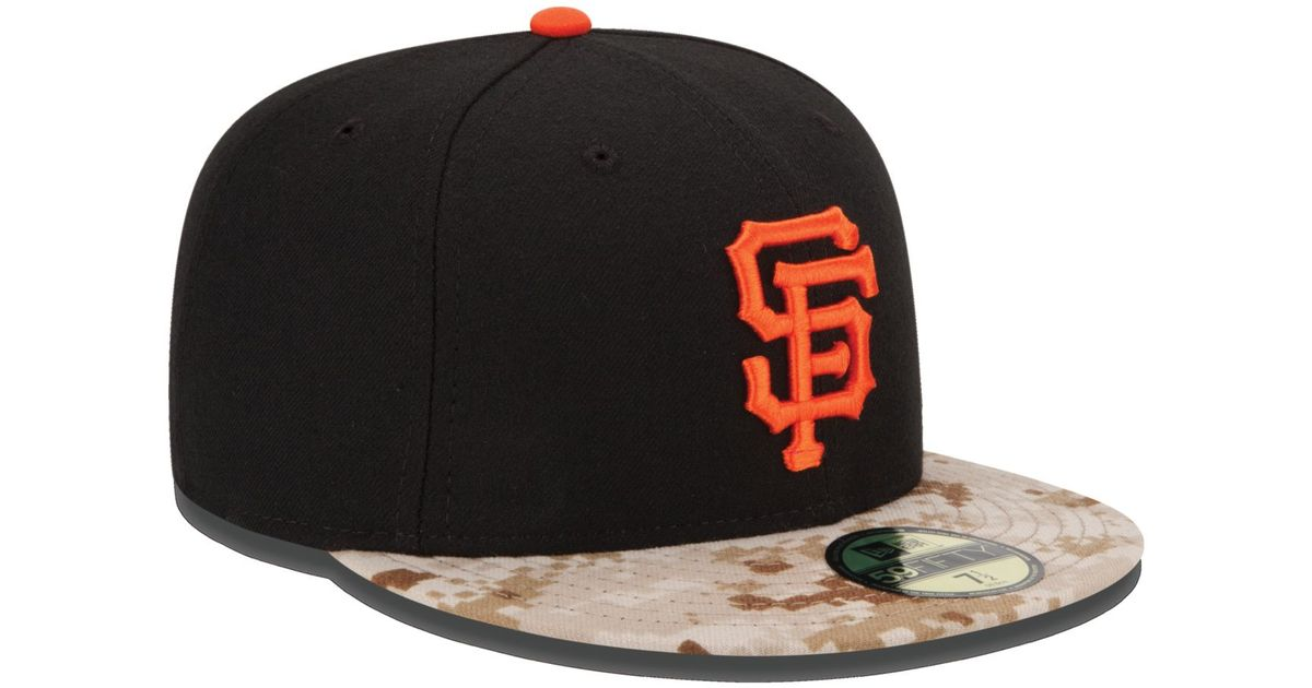 the best attitude 4ffa6 7ed9a ... greece ktz san francisco giants memorial day stars and stripes 59fifty  cap in black for men