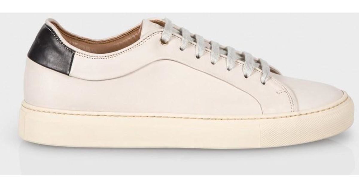 Paul Smith White Leather Sneakers 68cF4Ei