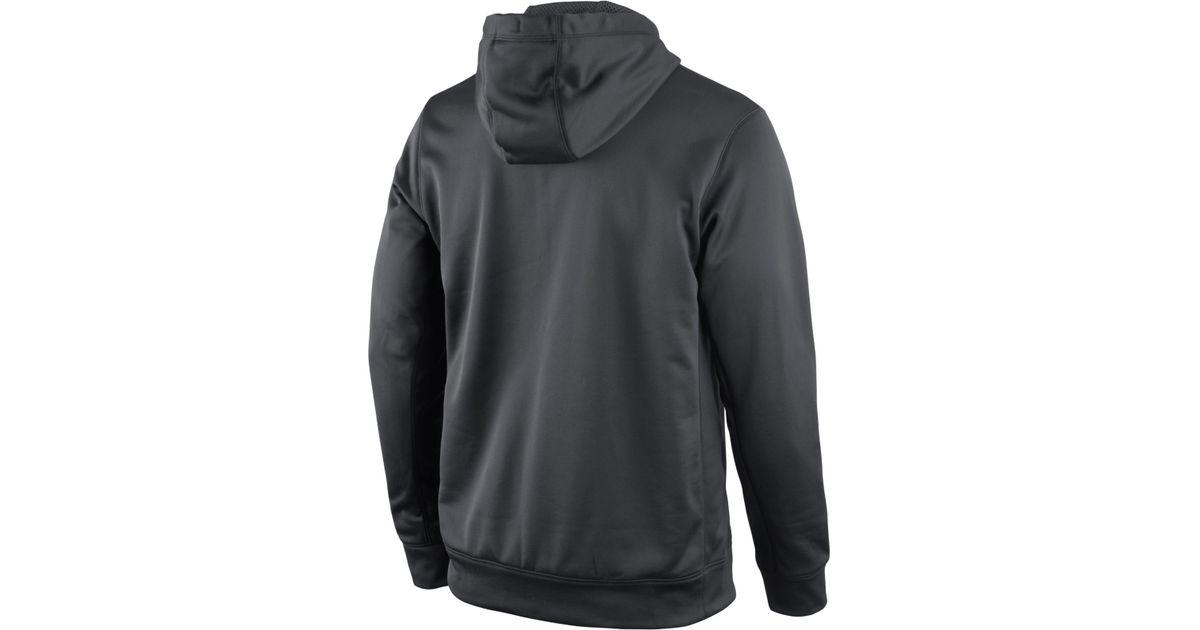 6d3ce17337f Lyst - Nike Men S Miami Hurricanes Platinum Ko Hoodie in Gray for Men