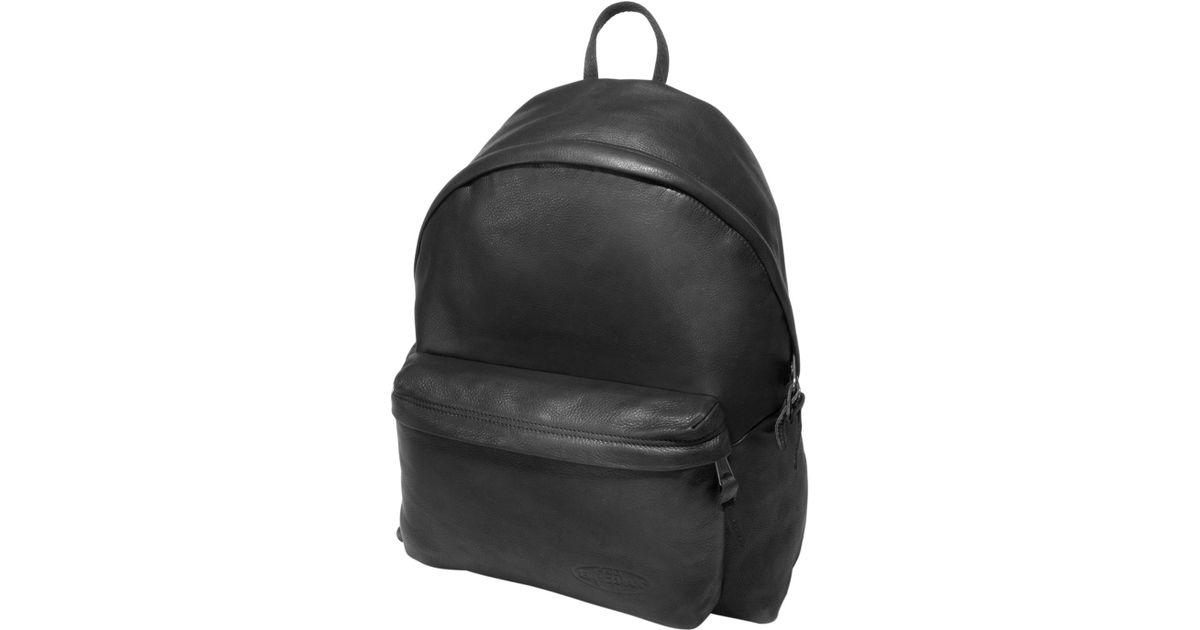 Lyst - Eastpak 24l Padded Pak r Leather Backpack in Black for Men