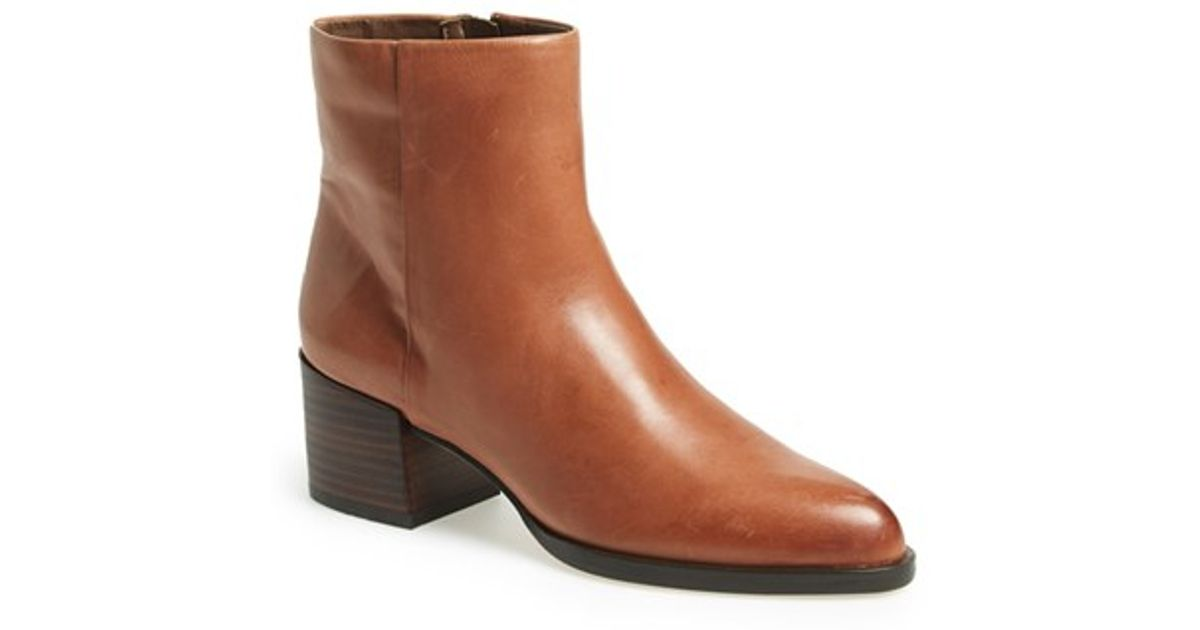 512bab385 Lyst - Sam Edelman  joey  Bootie in Brown