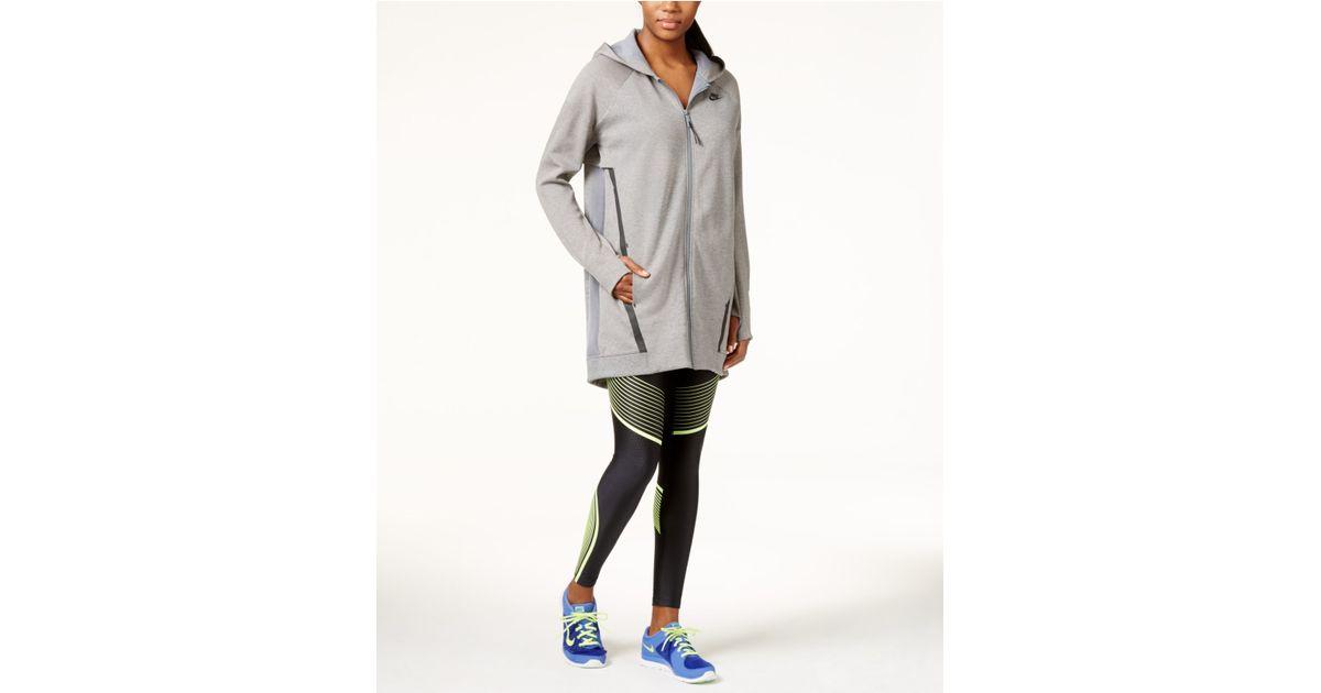 523e778022a0 Lyst - Nike Tech Fleece Cocoon Jacket in Gray