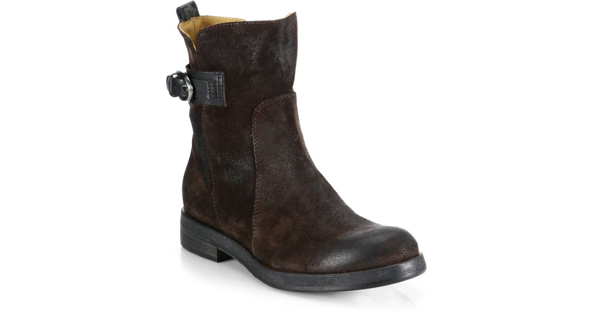 buy cheap recommend Alberto Fermani Suede Moto Boots free shipping Inexpensive cheap price original RoHxhv