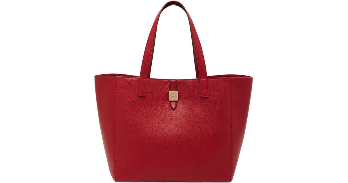 47a6fd1caf ... new zealand mulberry tessie tote in red lyst 81ff3 7ed7d