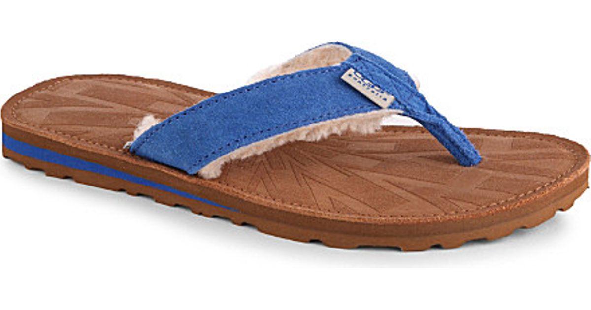 blue ugg flip flops