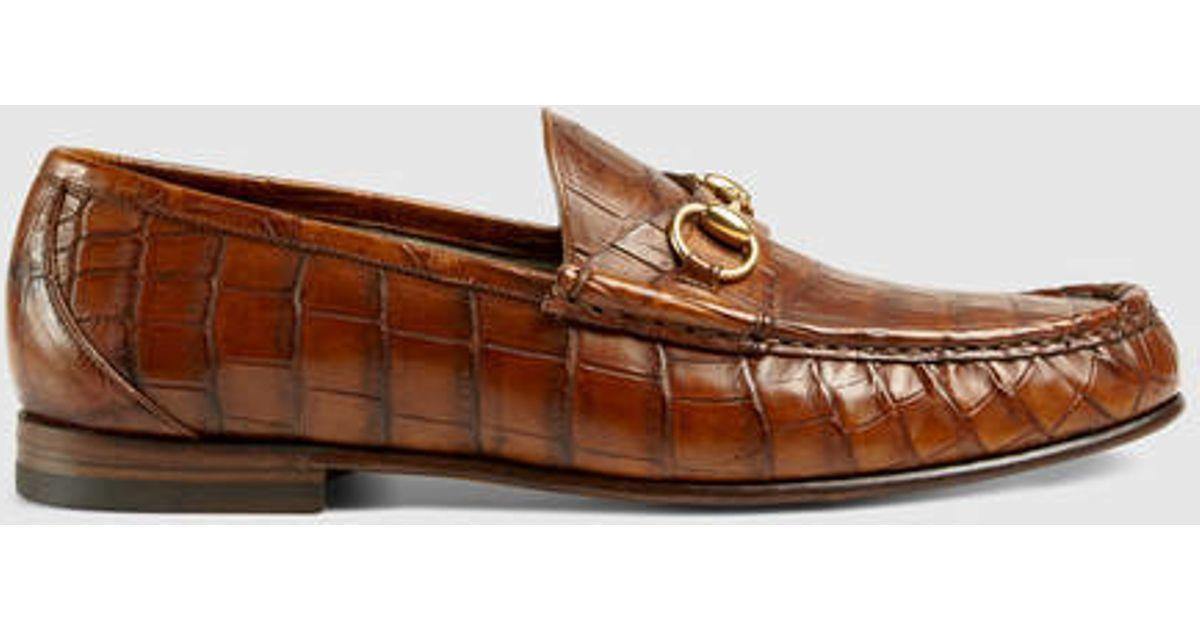 032ede1f3ff Gucci 1953 Horsebit Loafer Brown Suede