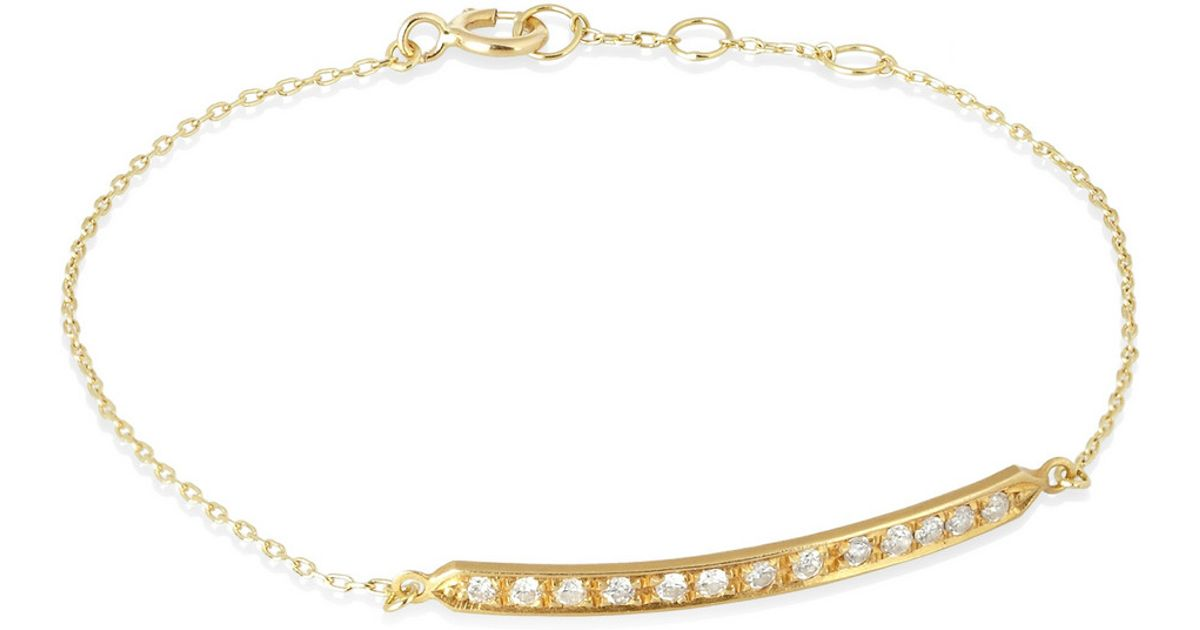 product bracelet diamond bar road jewellery gold london white br geo
