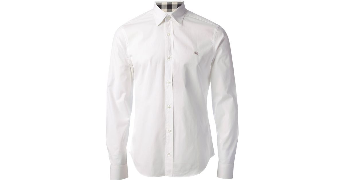 Lyst Men Shirt White For Burberry In Classic 9YIWEDH2