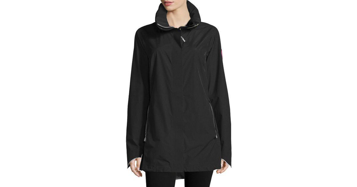 Canada Goose down outlet store - Canada goose Hayward Water-Resistant Jacket in Black (black ...