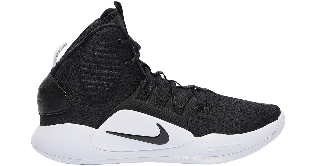 check out 6de76 2438b Nike Hyperdunk X Mid in Black for Men - Lyst