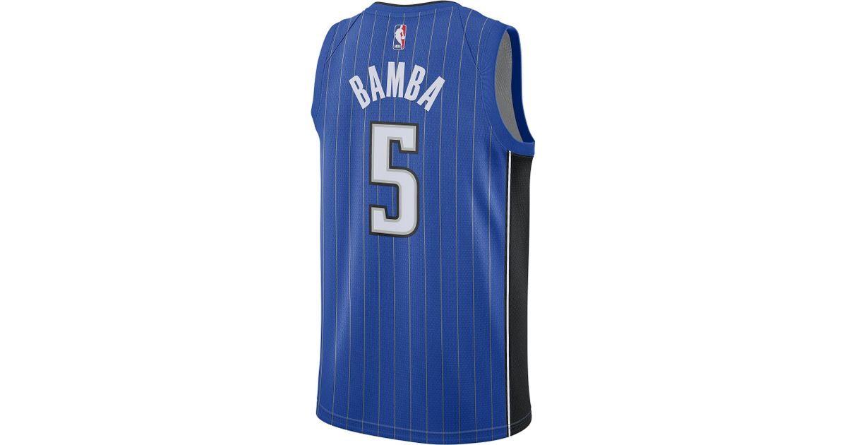 huge discount 335af b0900 Nike - Black Mohamed Bamba Nba Swingman Jersey for Men - Lyst