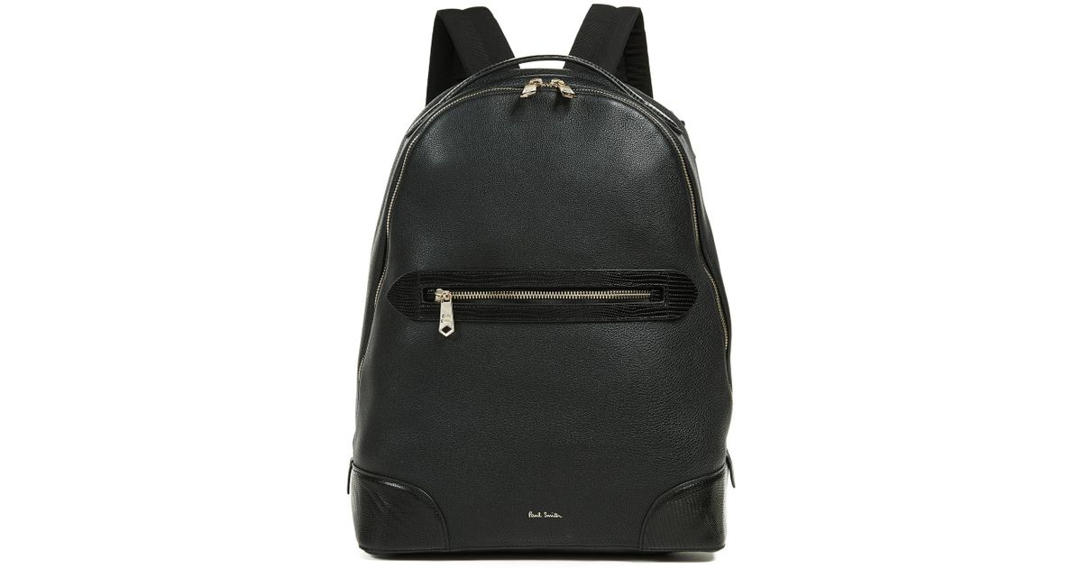 26aad6eec Paul Smith Classic Tech Leather Bag in Black for Men - Lyst