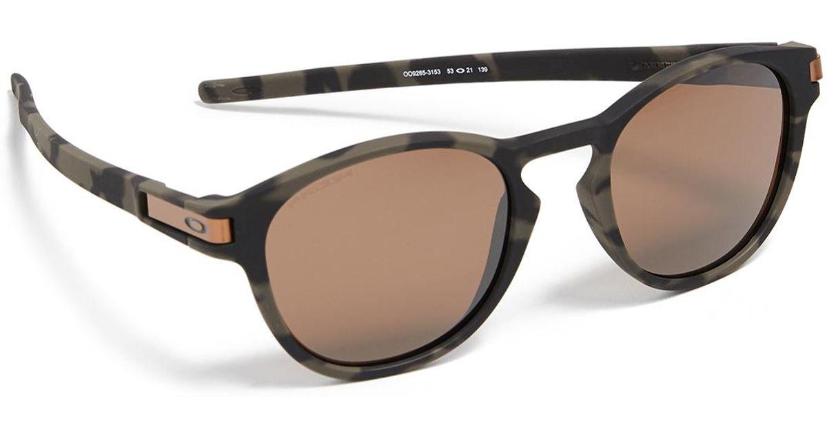 8ddab6a16d Lyst - Oakley Latch Camo Prizm Sunglasses for Men