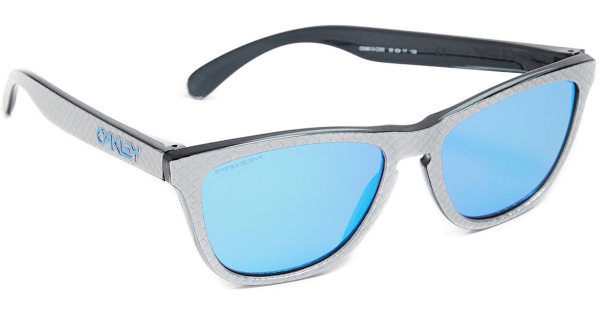 c1e0082e53f01 Oakley Frogskins Prizm Checkbox Sunglasses in Blue for Men - Lyst