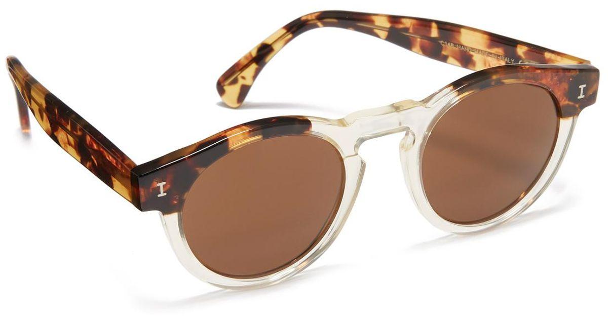 400b6c1523 Lyst - Illesteva Leonard Sunglasses in Brown for Men