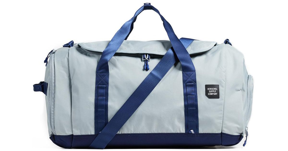 64b0fd55fb Lyst - Herschel Supply Co. Trail Gorge Large Duffel Bag in Blue for Men