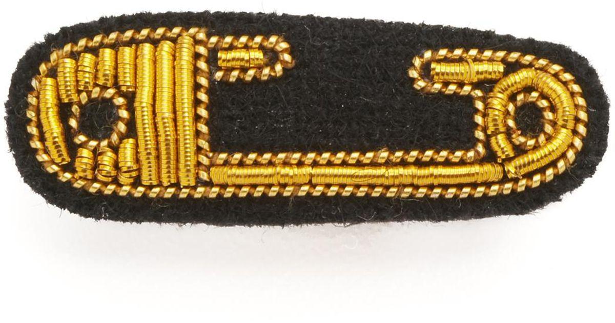 Macon & Lesquoy Safety Pin - Gold vGTI8i7