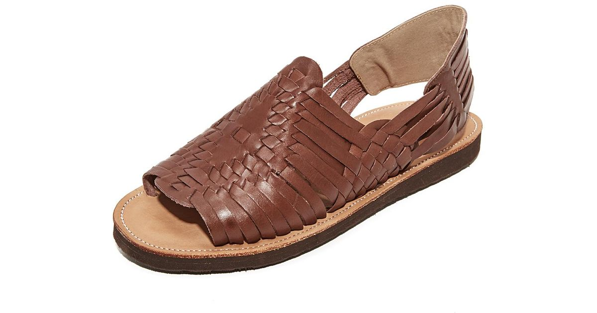 08458c8926fb Lyst - Chamula Chichen Huaraches in Brown for Men