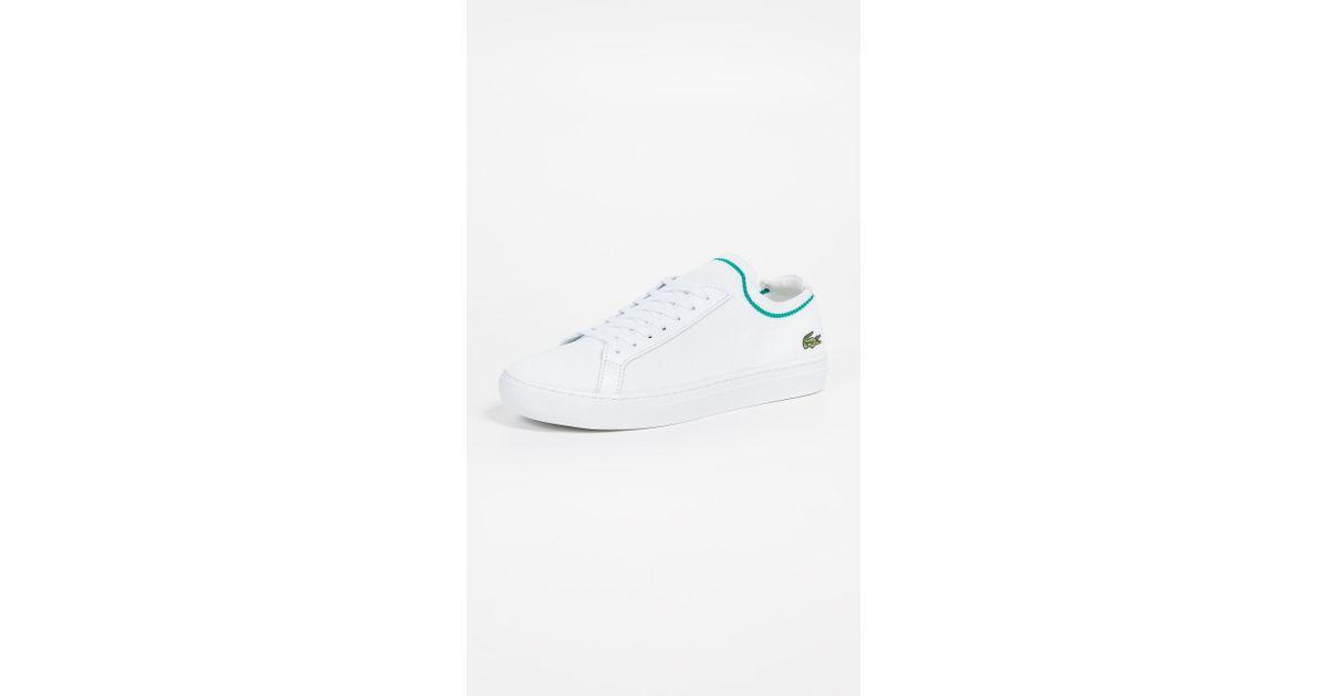 1c164721769e Lyst - Lacoste La Pique Tennis Sneakers in White for Men