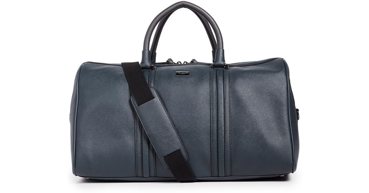 63810ac4d Ted Baker Grankan Duffel Bag in Blue for Men - Lyst