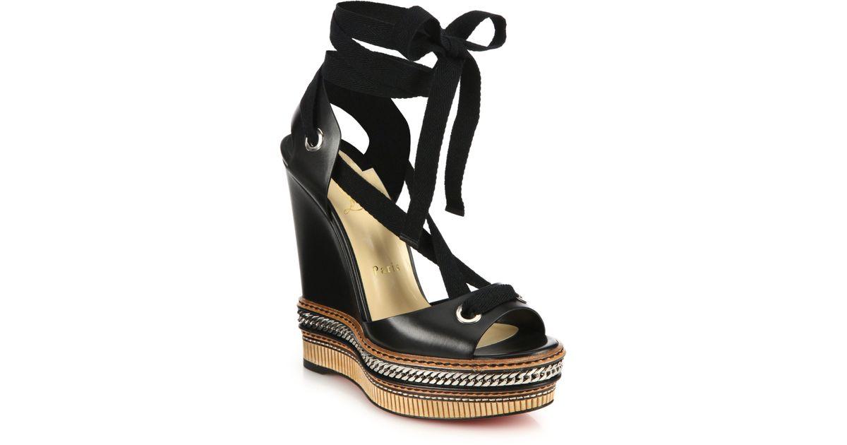 louboutin Espadrilles & Sandals nero
