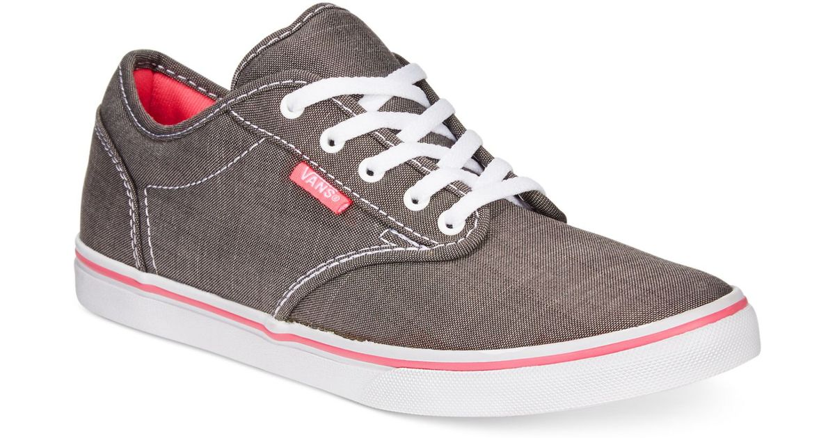 vans atwood low brown