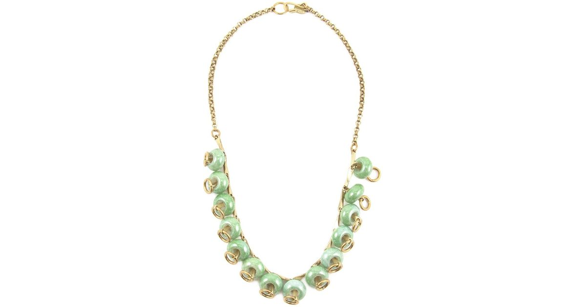 OLYMPIAH Marrocos beaded necklace - Blue