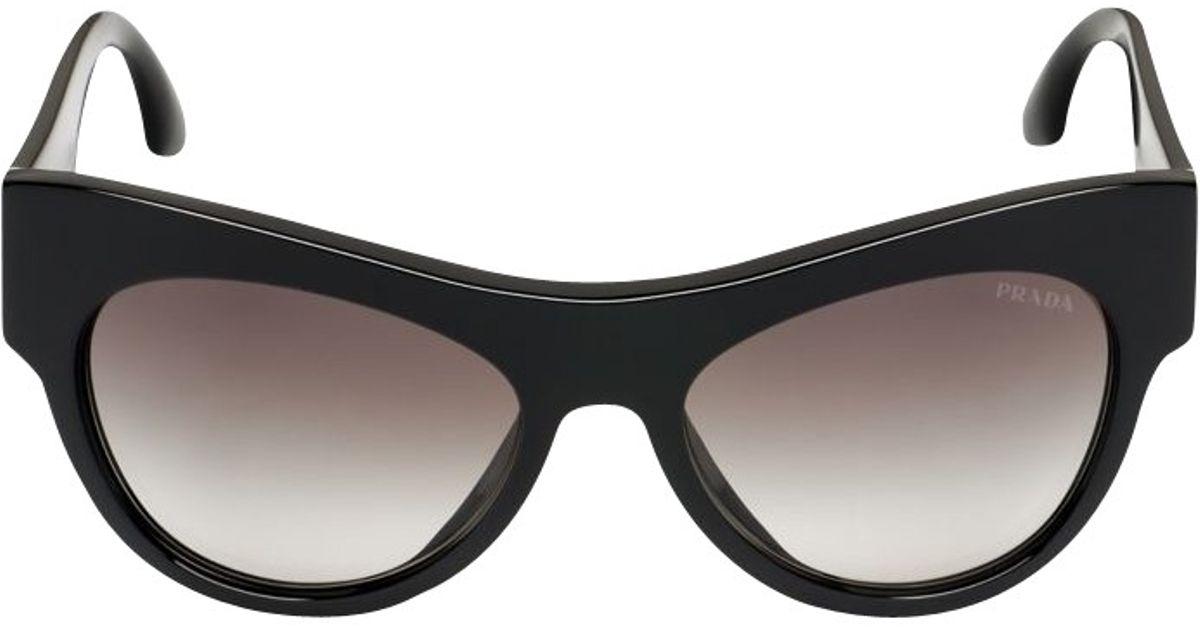 6451ccbdb1e0 Prada Pr28qs Limited Edition Voice Sunglasses in Black - Lyst