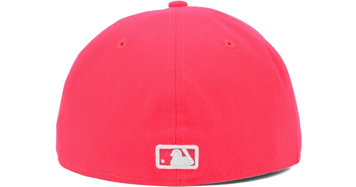 purchase cheap ac7d5 71184 Lyst - Ktz Kansas City Royals Mlb C-dub 59fifty Cap in Red for Men