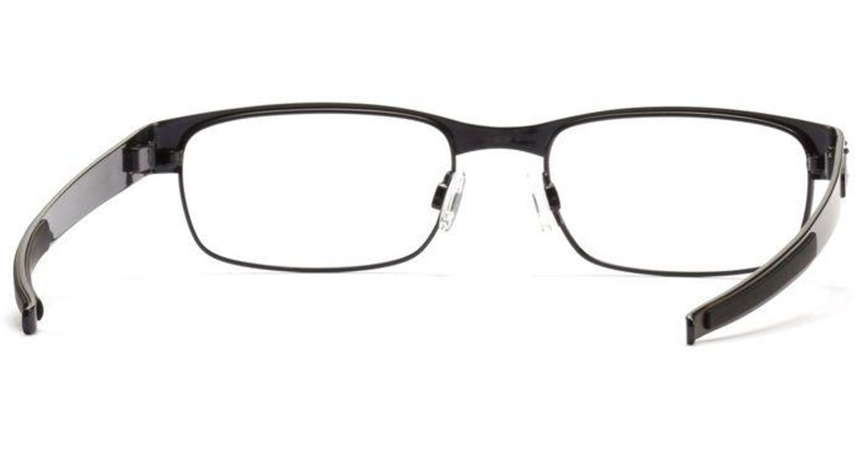3ba83dfc8fc Oakley Eyeglasses Ox3222 Steel Plate - Bitterroot Public Library
