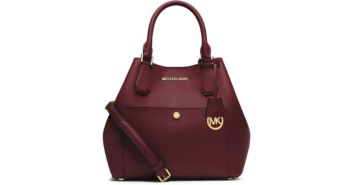 ddf555646f83 Lyst - MICHAEL Michael Kors Greenwich Large Grab Bag in Purple