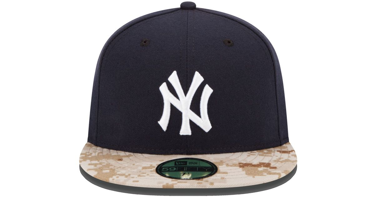 6777afecf Lyst - KTZ New York Yankees Memorial Day Stars And Stripes 59fifty Cap in  Blue for Men