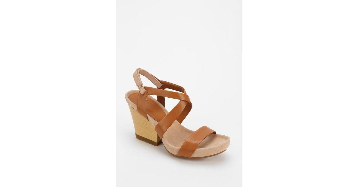 639066d7475 Lyst - Camper Allegra Heeled Sandal in Brown
