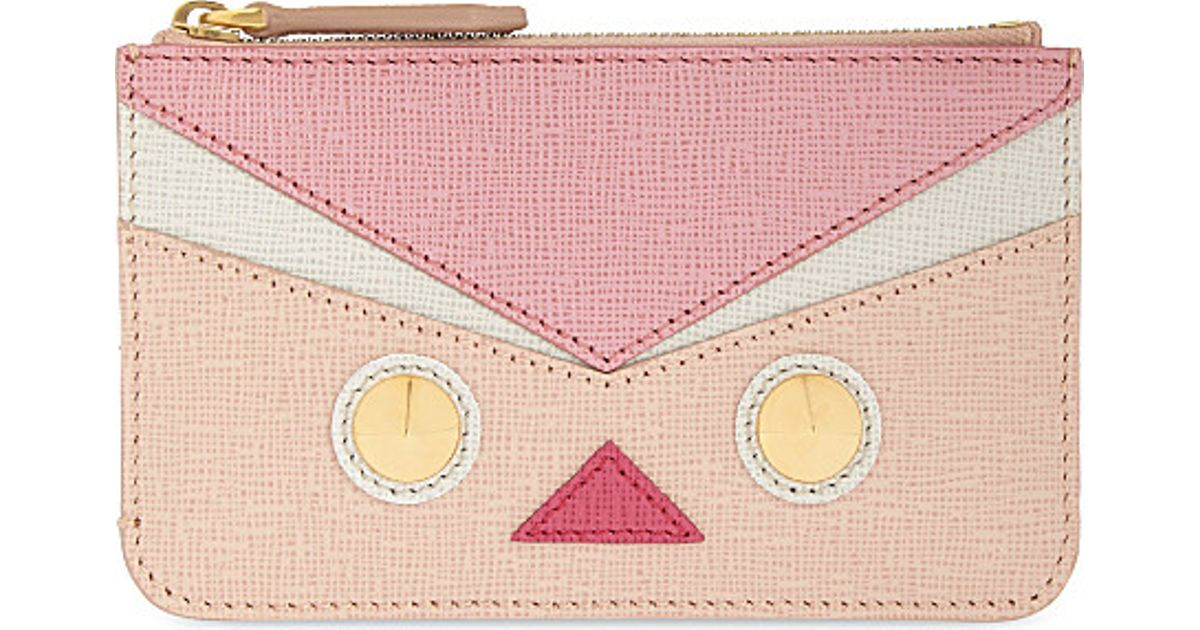 775be02a63bc Fendi Bird Pouch Keyring in Pink - Lyst