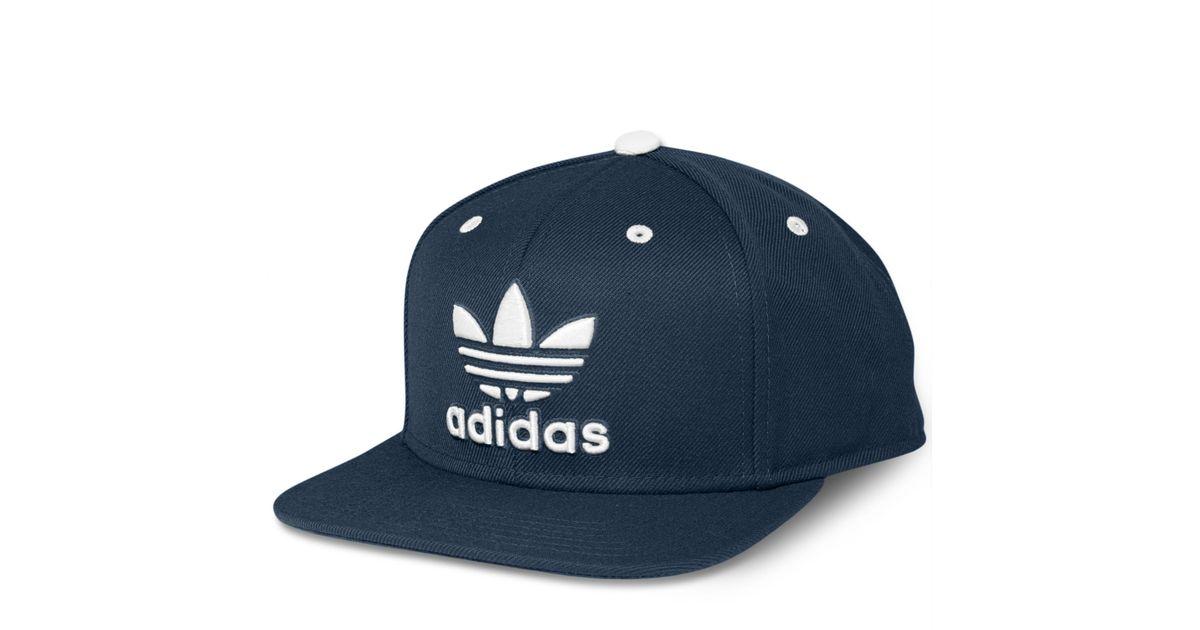 30608e2e66331 Lyst - adidas Adi Originals Thrasher Snapback Cap in Blue for Men
