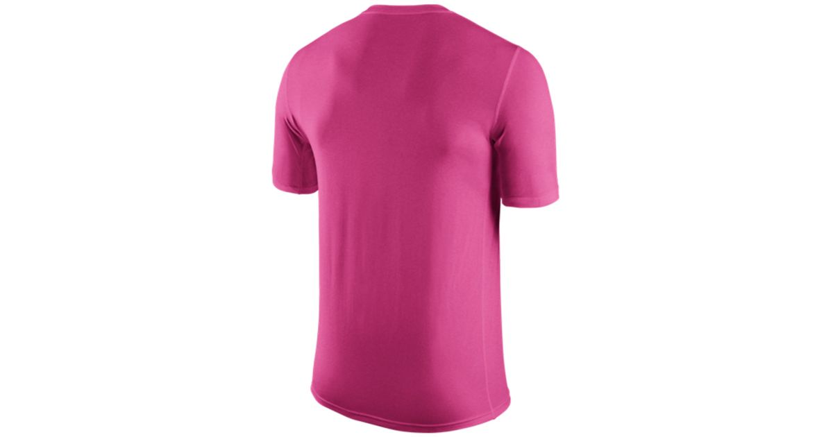 89d4dbd21 Lyst - Nike Men s Chicago Bears Breast Cancer Awareness Legend T-shirt in  Pink for Men