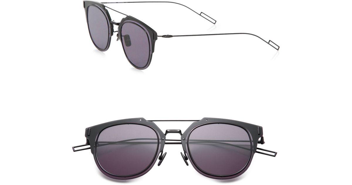 448c9766005 Lyst - Dior Homme Composit 1.0 Sunglasses in Black for Men