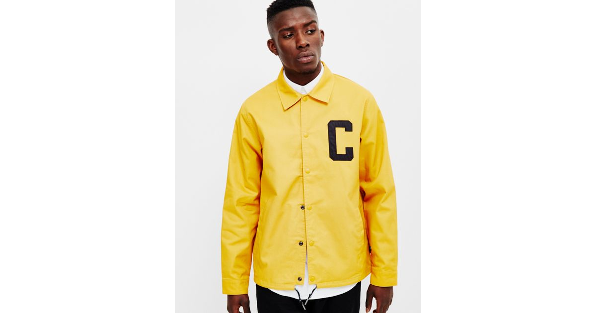 sleek official images reputable site Carhartt WIP - Penn Jacket Canvas Yellow for Men - Lyst