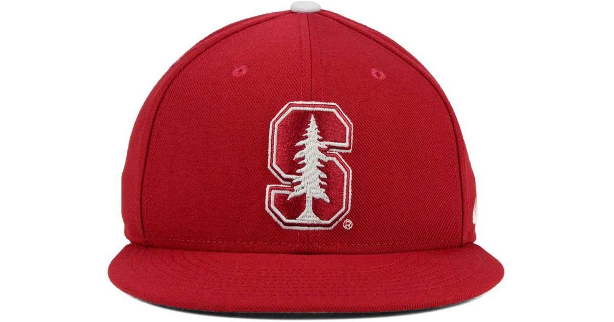 the best attitude c416e 79d5b ... order lyst nike stanford cardinal true hardwood seasonal cap in red for  men 7c632 daee3