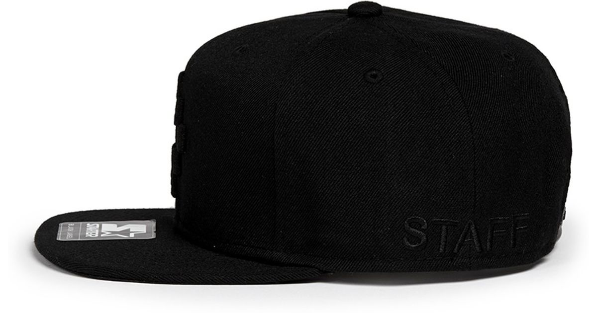 4e40c5df0a1 Marcelo Burlon  starter Cruz  Cap in Black for Men - Lyst