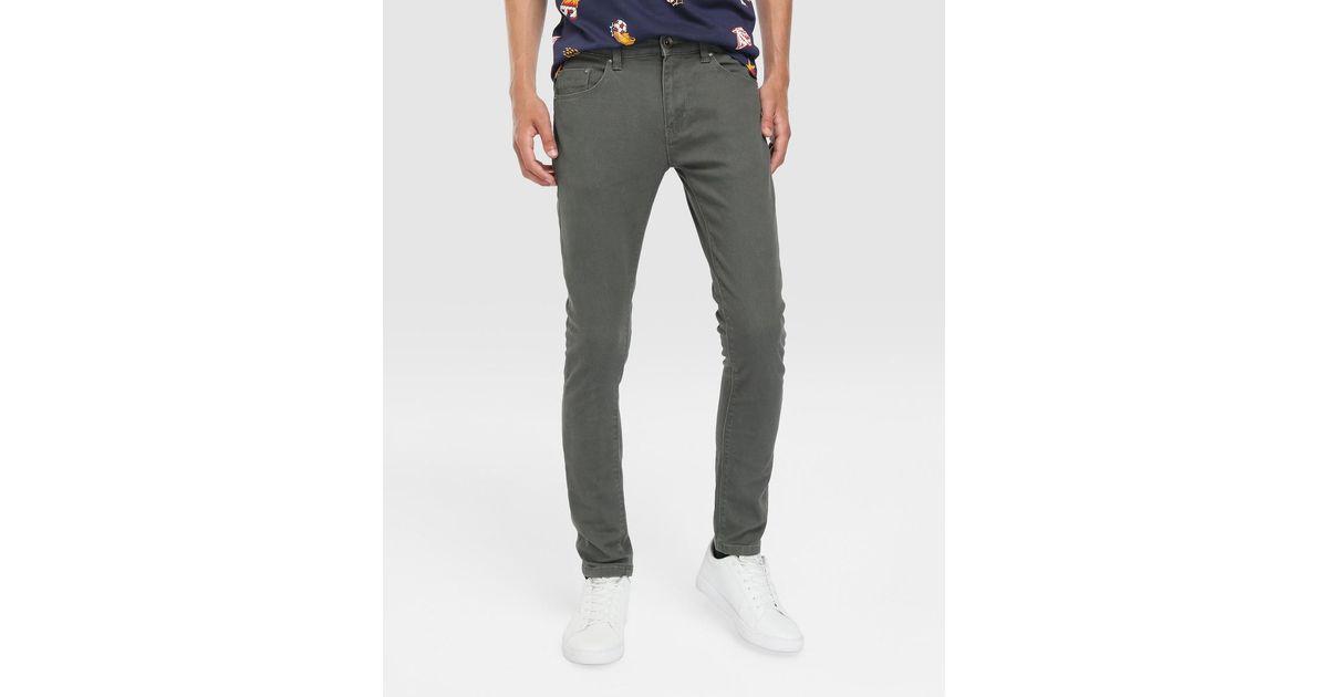 best service great fit reputable site GREEN COAST - Multicolor Pantalon 5 Poches Homme Skinny Vert Kaki for Men -  Lyst