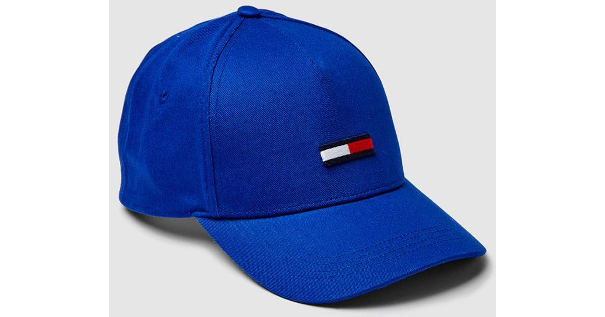 Lyst - Tommy Hilfiger Royal Blue Cotton Baseball Cap in Blue for Men 15b5ecaccaa