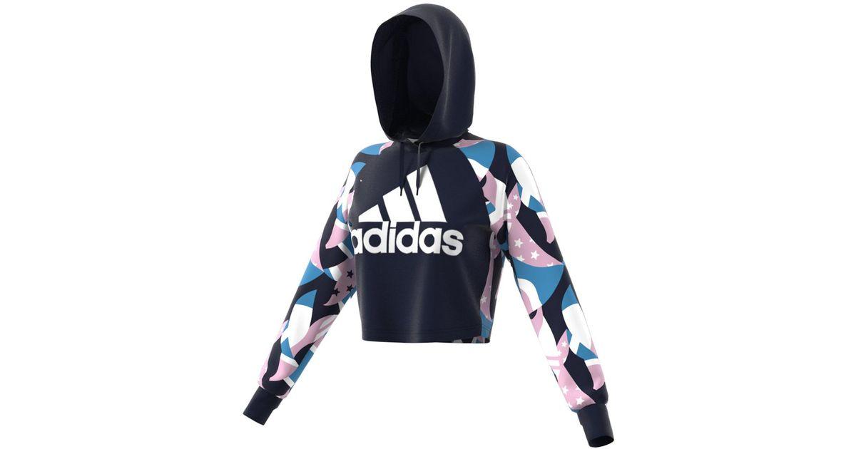 classic style usa cheap sale online store Adidas Blue Sid Aop Sweatshirt