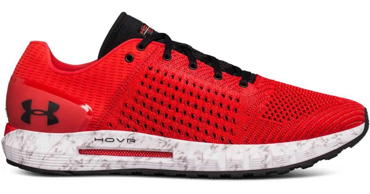 check out d60fc a60b1 Under Armour - Red Ua Hovr Sonic Nc Running Shoes for Men - Lyst